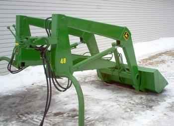 Used Farm Tractors for Sale: John Deere 48 Loader (2005-01 ...