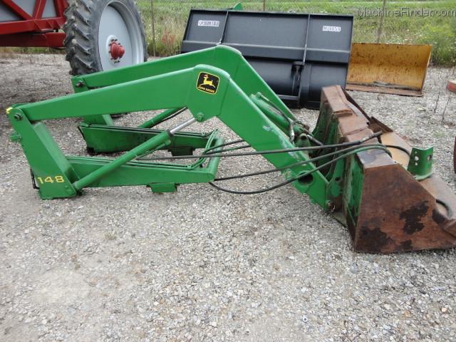 John Deere 48 Tractor Loaders - John Deere MachineFinder