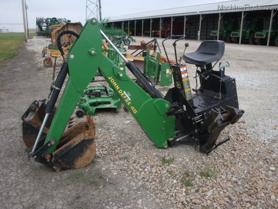 2000 John Deere 48 BACKHOE Tractor Loaders - John Deere ...