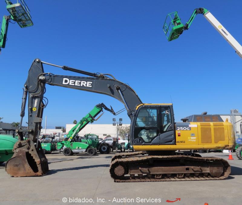 2012 John Deere 250G LC Excavator Hydraulic Thumb 48 ...