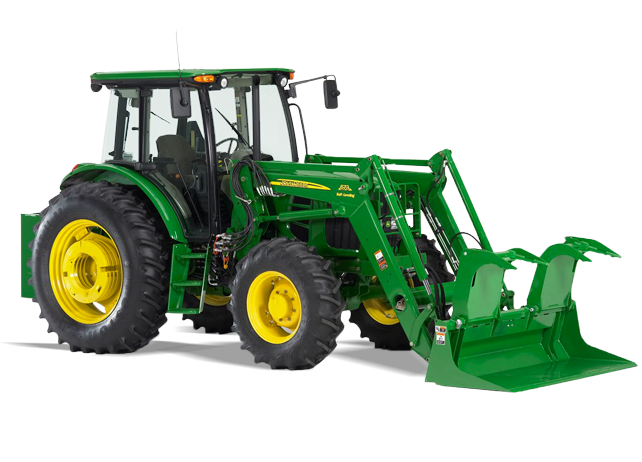 Loader Attachments | AD12 Debris Grapples | John Deere US