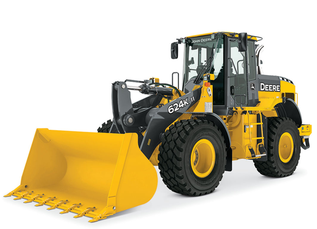 624K-II | Wheel Loader | John Deere US
