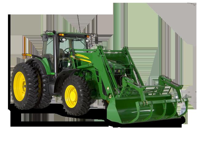 John Deere 843 Loader Ag Tractor Loaders Material Handling ...