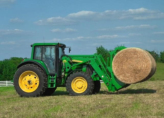 John Deere 741 Loader Ag Tractor Loaders Material Handling ...