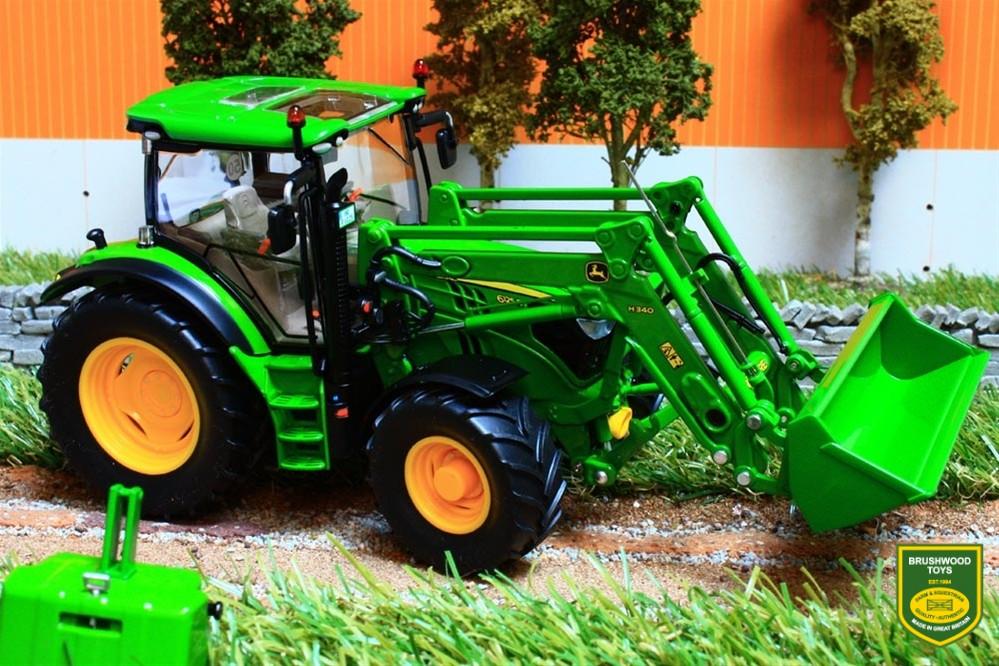 Brushwood Toys | W7344 WIKING JOHN DEERE 6125R TRACTOR ...