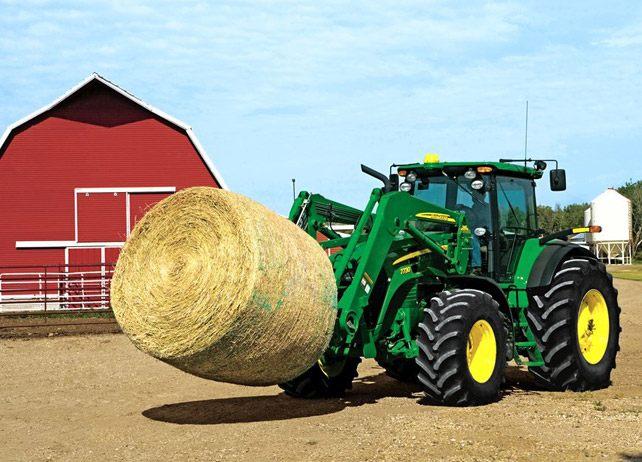 John Deere 746 Loader Ag Tractor Loaders Material Handling ...
