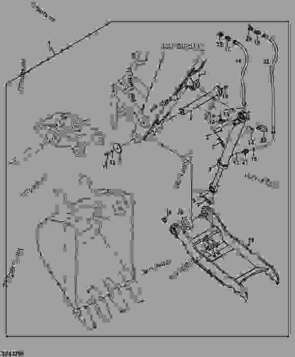 Hydraulic Bucket Clamp - EXCAVATOR John Deere 17D ...