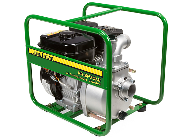 John Deere PR-SP2GM1 136cc Water Pump Semi-Trash Transfer ...