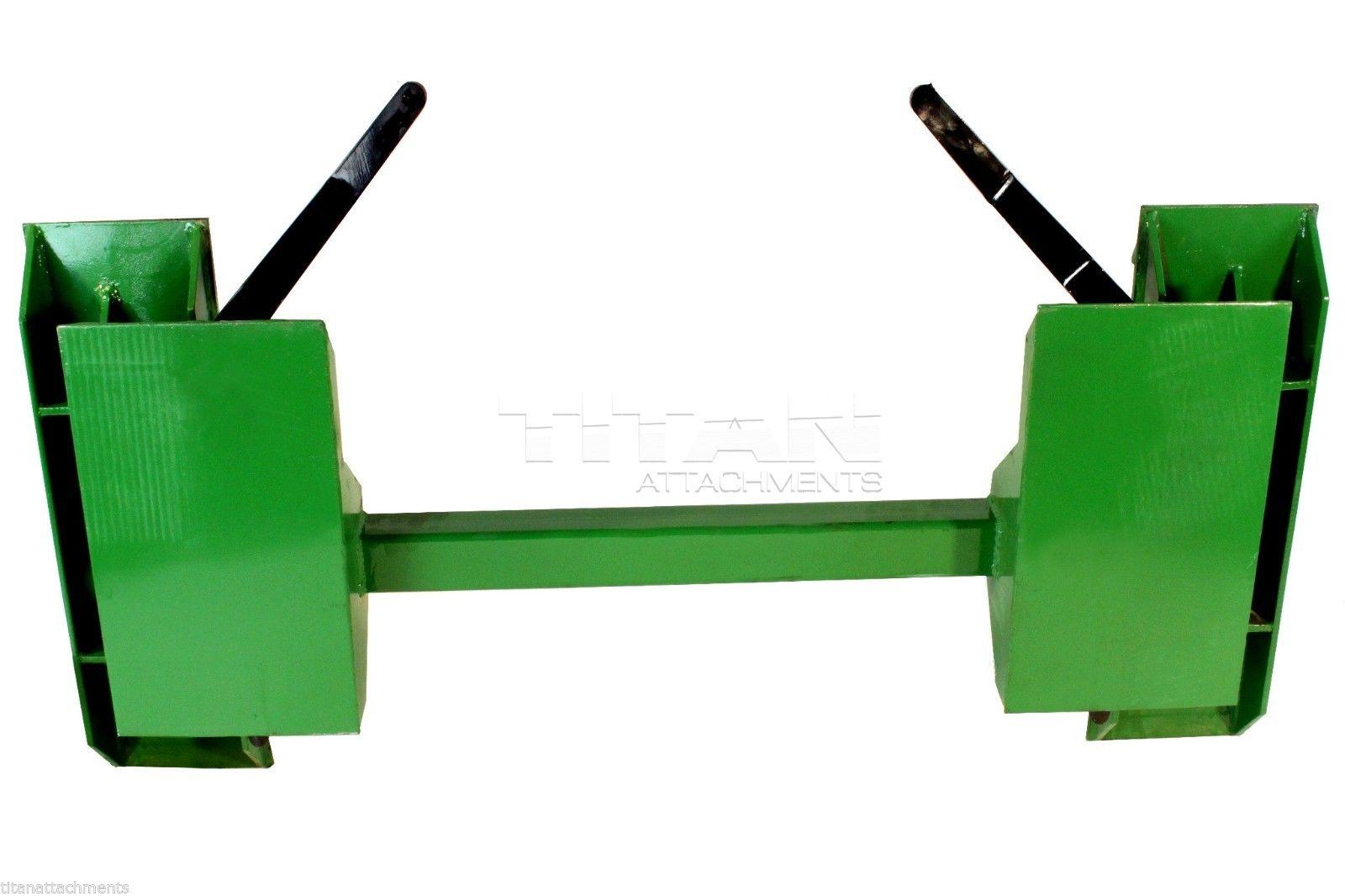 John Deere to Skid Steer Quick Attach Adapter 200 300 400 ...