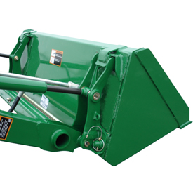 49-in. (1250-mm) materials bucket