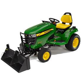 Deere branded 'Johnny Bucket' for X3xx and X5xx tractors