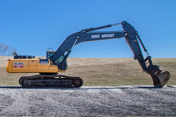 Excavator Rentals Ottawa | Dave Wright Excavating