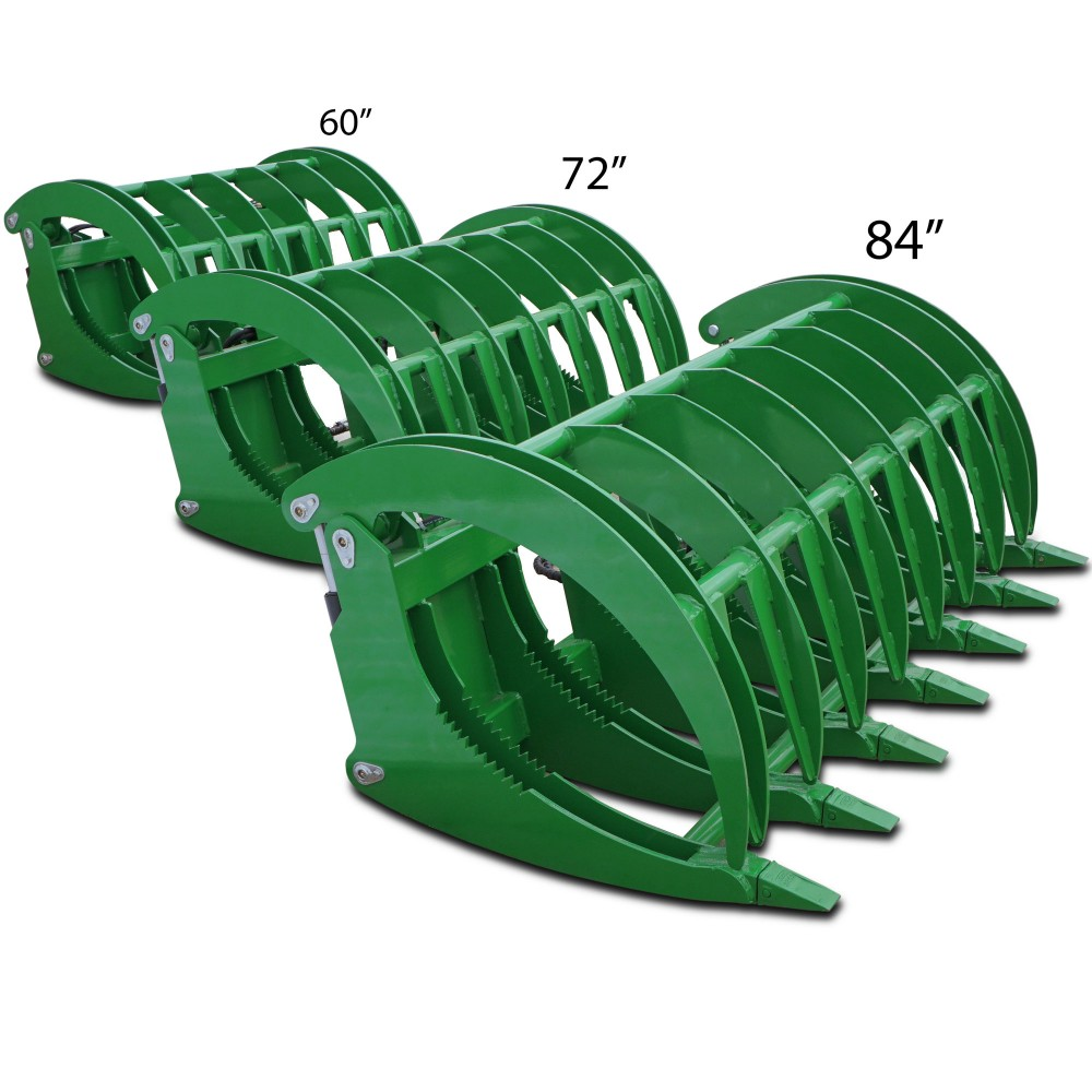 Titan HD 84 John Deere Tractor Clamshell Attachment Root ...