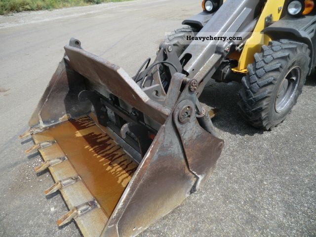 clamshell bucket + forks, 2270 Bh Construction machine ...