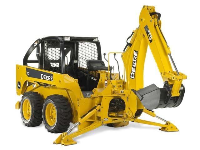 John Deere Construction BH9 Backhoe Attachments ...