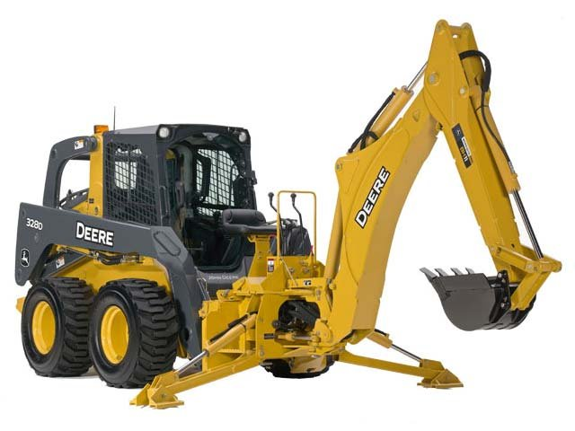 John Deere Construction BH8 Backhoe Attachments ...