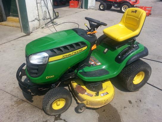 John Deere D130 Lawn & Garden and Commercial Mowing - John ...