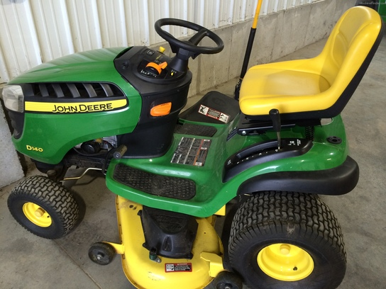 2012 John Deere D140 Lawn & Garden and Commercial Mowing ...