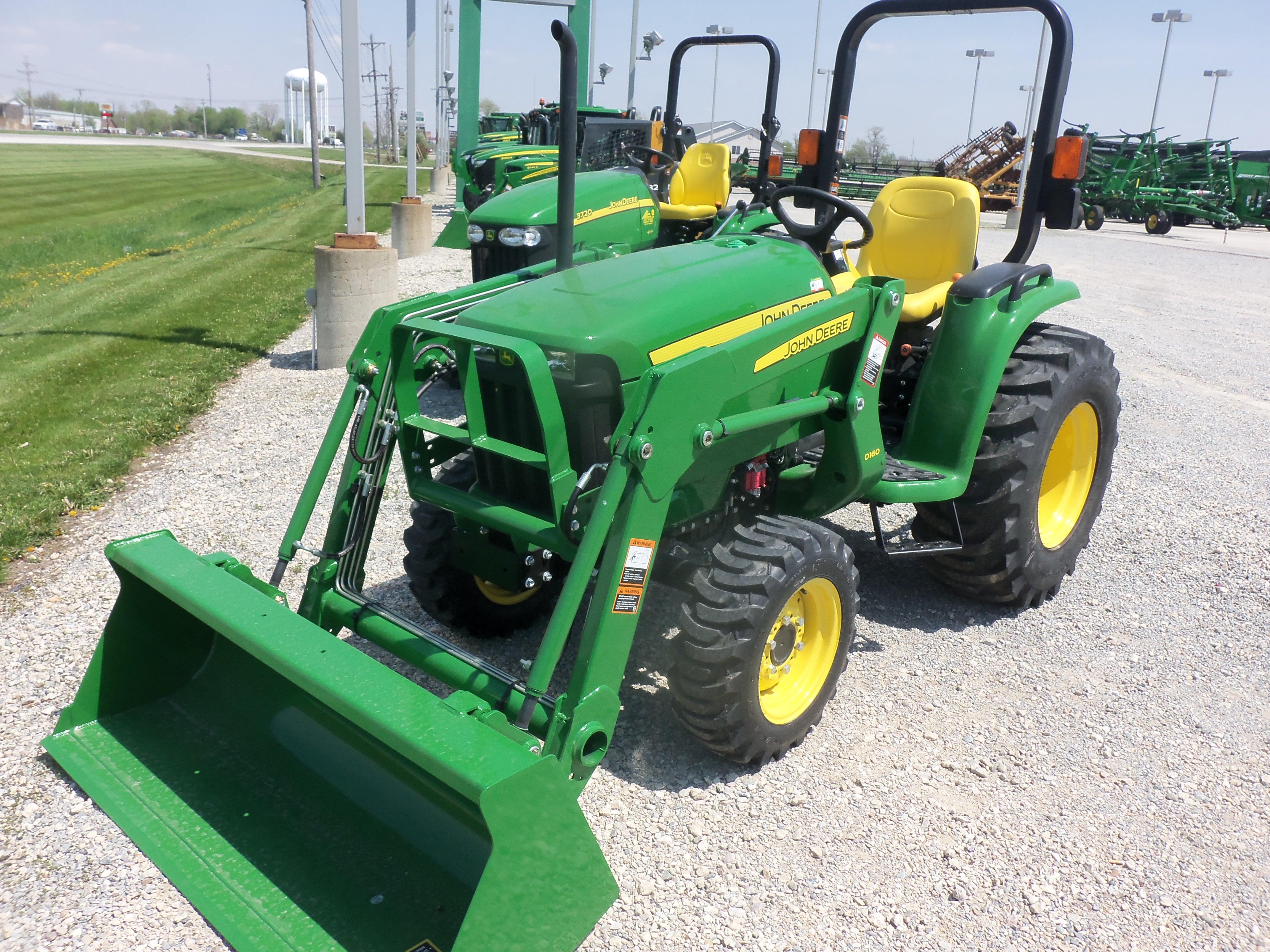 John Deere 3038E with D160 loader | John Deere equipment ...