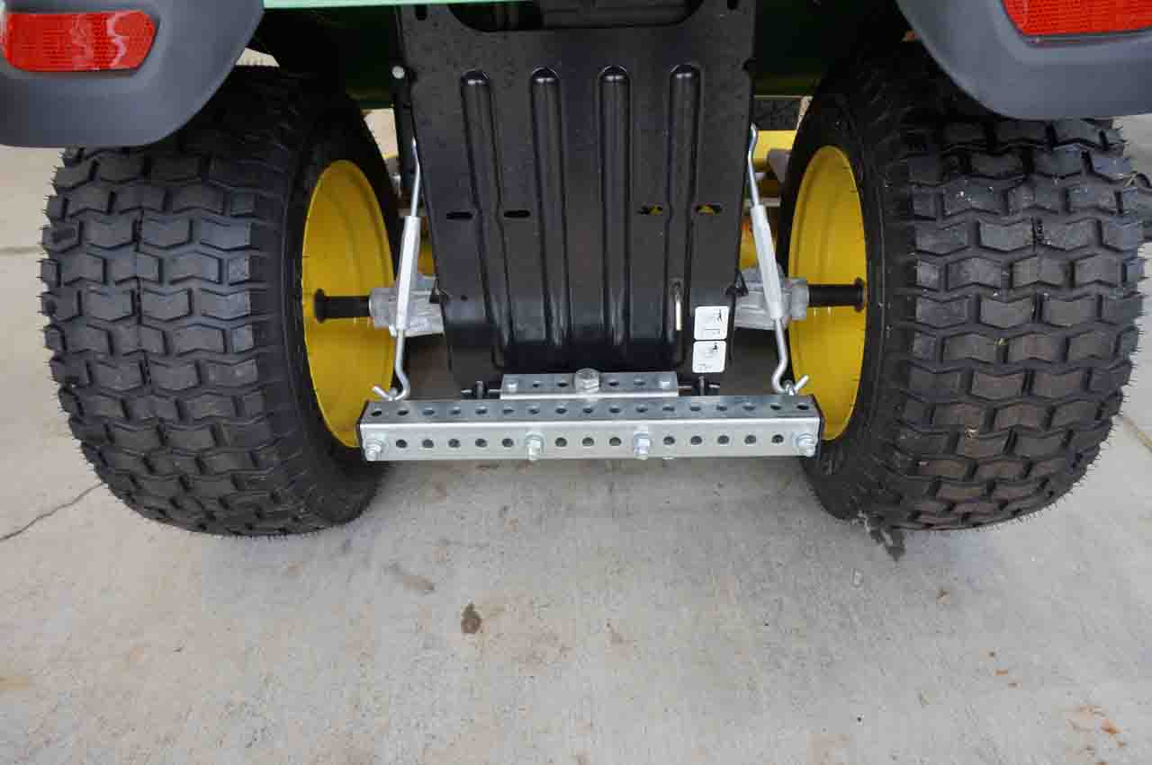 Tarp Tow® rear economy attachment device installations for ...