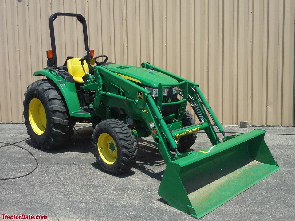 TractorData.com John Deere 4066M tractor photos information