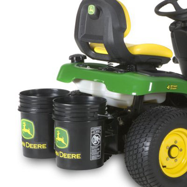 John Deere Double Bucket Holder Less Buckets - LPJD301