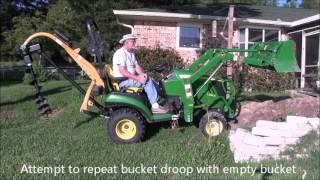 John Deere 1026R floppy bucket - YouRepeat
