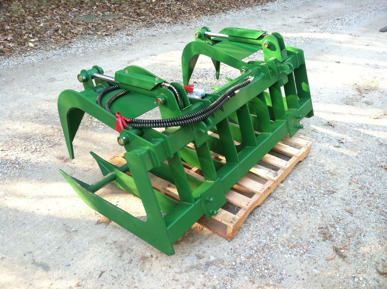 72 Root Grapple Bucket Attachment for John Deere 200 300 ...