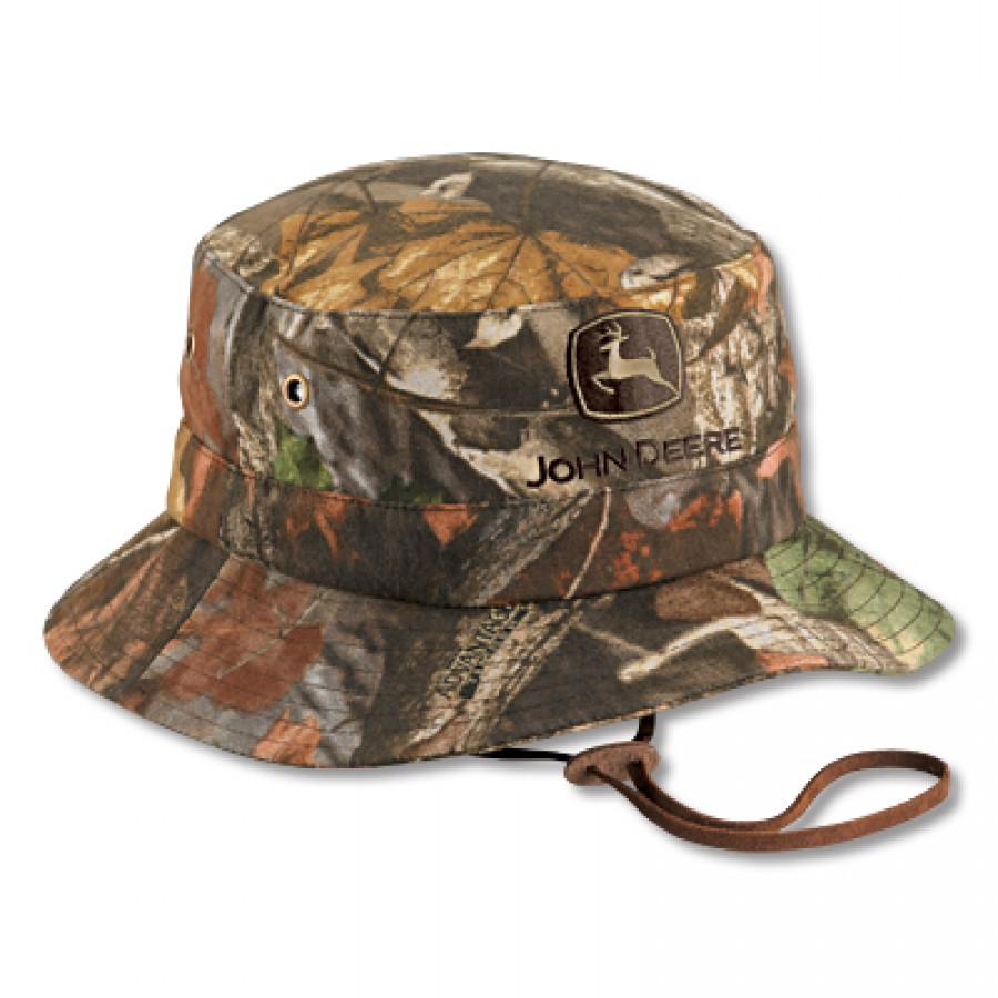 John Deere Advantage Timber Brown Camo Bucket Hat ...