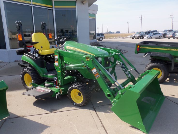John Deere 1025R with H120 loader | John Deere equipment ...