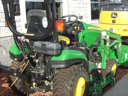 2012 John Deere 1026R with H120 loader and 60D mower ...