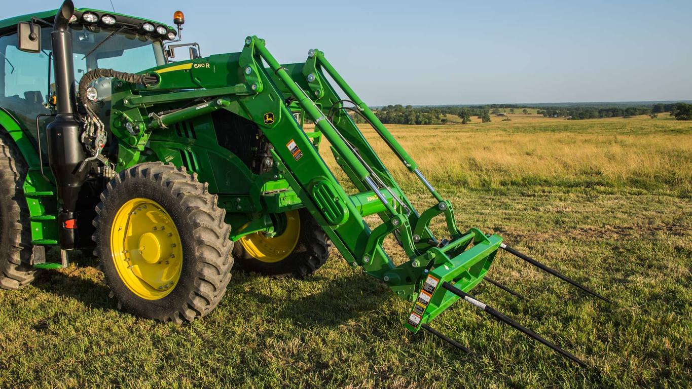 Front End Loaders | H165 | John Deere CA