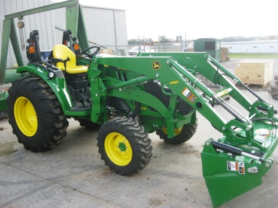 2015 John Deere 4052R/H180/BLADE/4IN1 BUCKET Tractor For ...