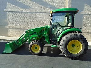 2014 JOHN DEERE 4044R COMPACT UTILITY TRACTOR WITH H180 ...