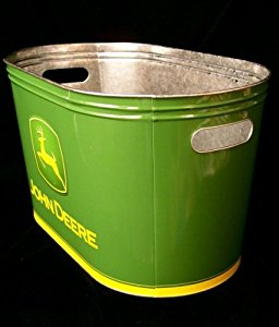 Amazon.com - John Deere Galvanized Party Tub - Magazine ...