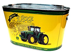 Amazon.com - John Deere Galvanized Large Party Tub - Ice ...