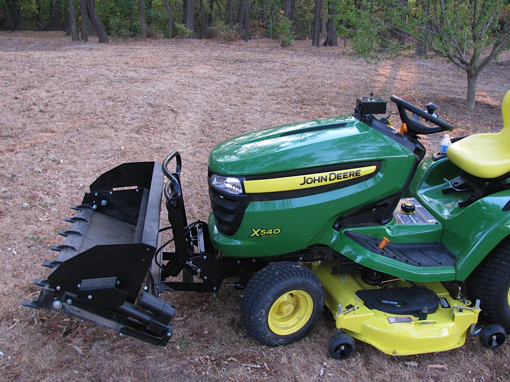 Johnny Bucket Jr. John Deere GTLX