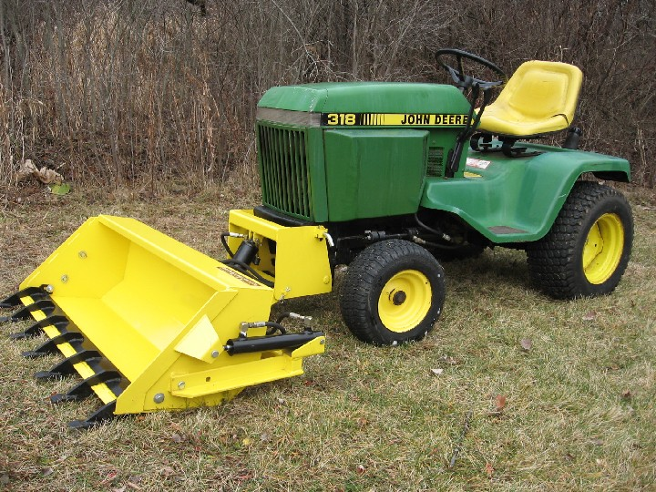 Johnny Bucket Sr. John Deere 300-400 series