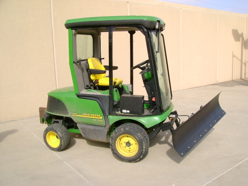 Johnny Bucket Sr. John Deere Front Mower
