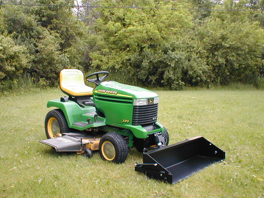 Johnny Bucket Jr. John Deere GX Type