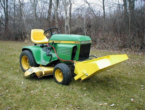 Johnny Bucket Jr. John Deere 110-200 series | John Deere ...