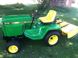 John Deere 318 Lawn Tractor with Attachments | eBay