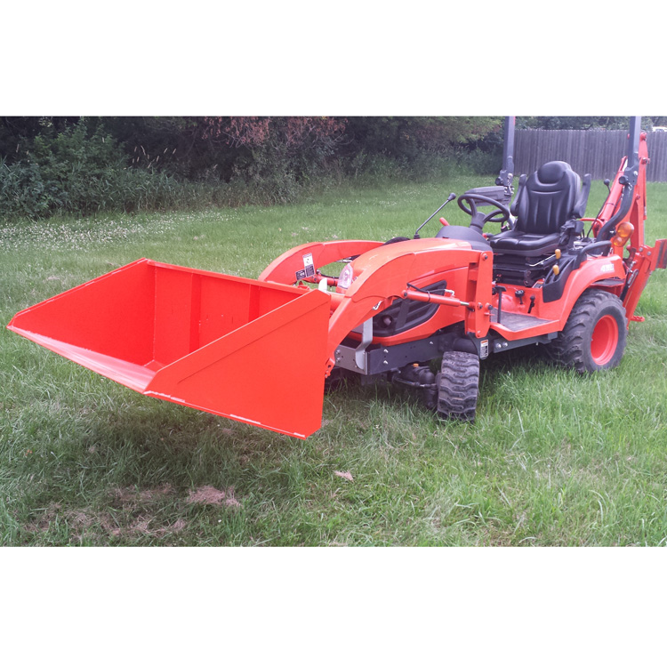 LIGHT MATERIAL BUCKET FOR KUBOTA BX SERIES TRACTORS - 60