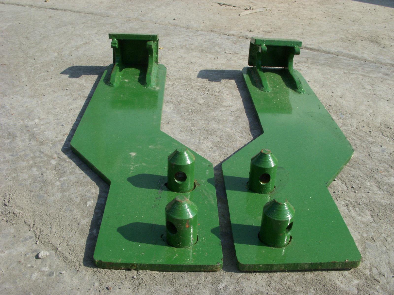 Mounting Brackets For John Deere Tractor Loader - Skid ...