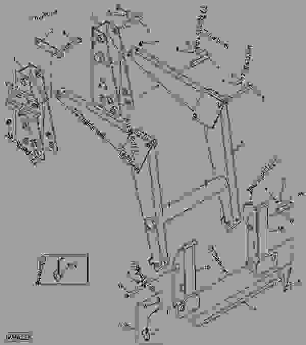 MASTS, BOOM AND BUCKET ATTACHING BRACKETS (521) S.N ...