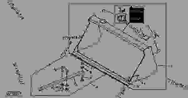 BW14145 Loader Bucket - bw14145 - John Deere spare part ...