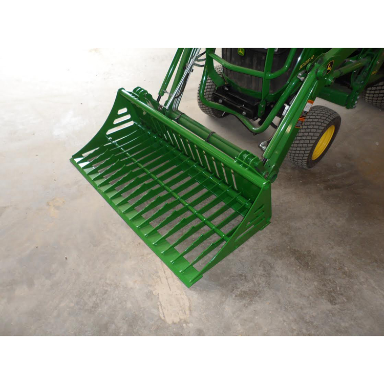 ROCK BUCKET & LAND PLANE COMBINATION FOR JOHN DEERE 1000 ...