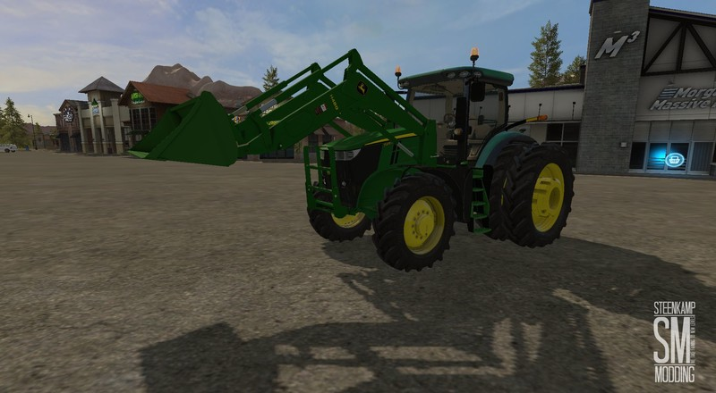 John Deere H480 & bucket V 1.0 for FS2017 - Farming ...