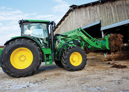 2013 John Deere 6125R Cab Review