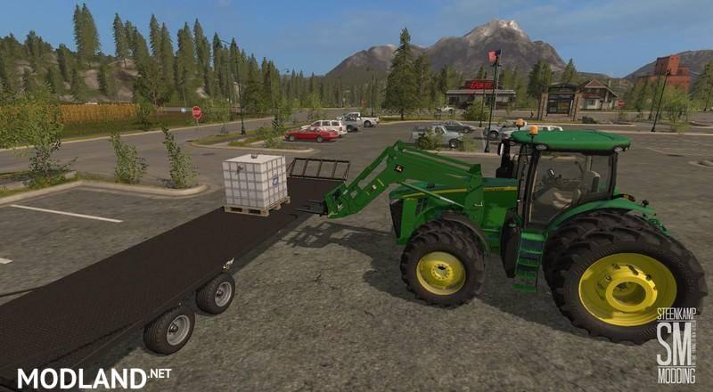 John Deere H480 & bucket v 1.0 mod Farming Simulator 17